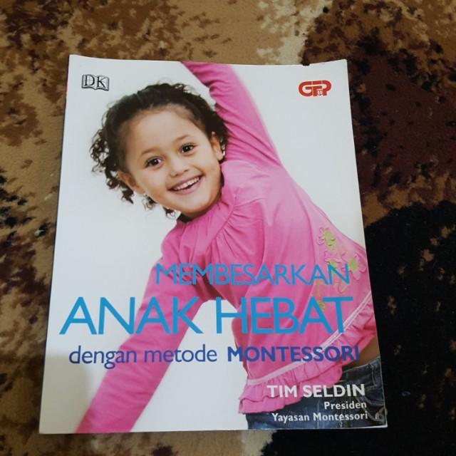 Buku anak hebat dengan metode montesori