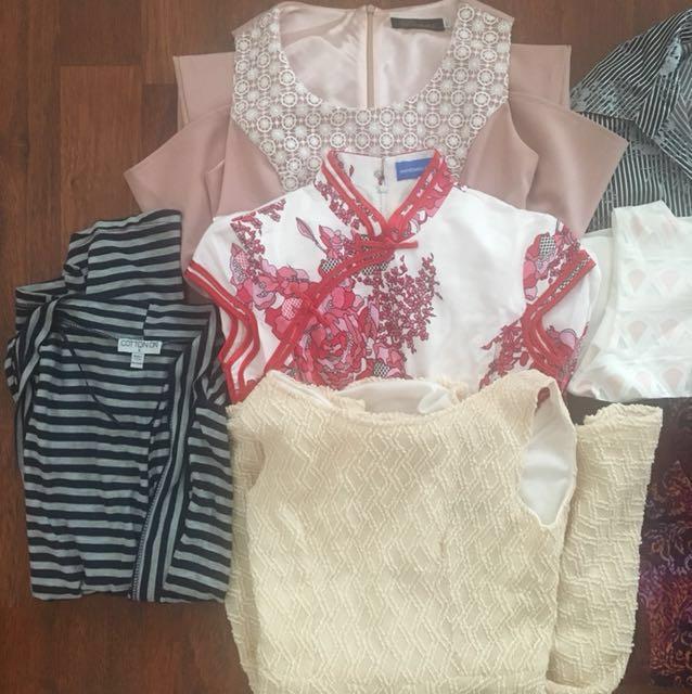 BUNDLE branded baju dress tops