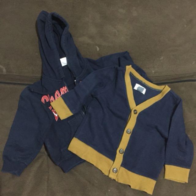 Bundling jacket & sweater