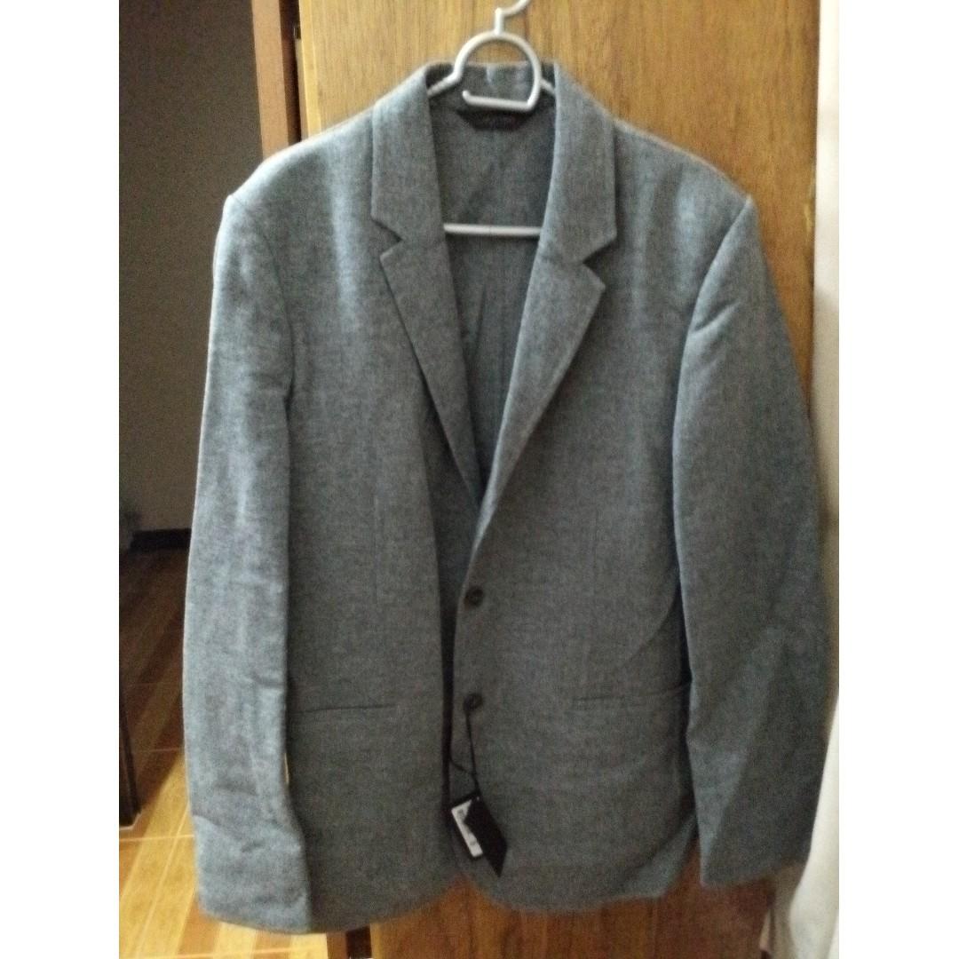 Calvin Klein Men's Blazer - EU50 - Grey
