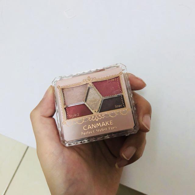 canmake完美色計眼影盤14號