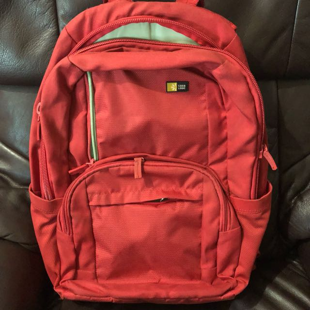 Case Logic GBP-116 16-Inch Laptop Backpack (Red)