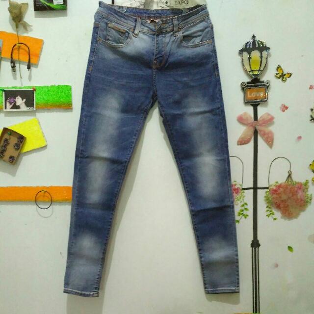 Celana Jeans Denim Ombre Mandalay
