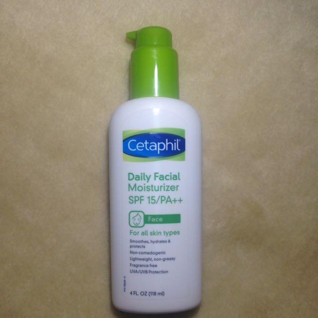 Cetaphil Daily Facial Moisturizer SPF 15 PA ++