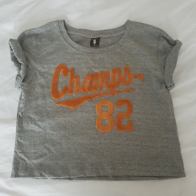 Champs 82 crop top (Size 6-8)