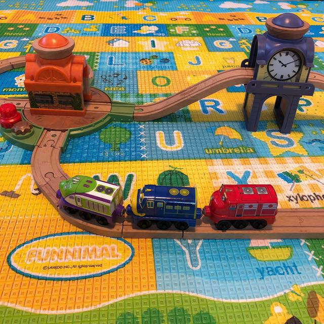 Chuggington trains and tracks, Toys & Games, Toys on Carousell