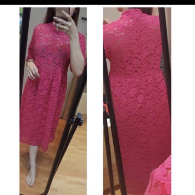 Clasyy lace dress