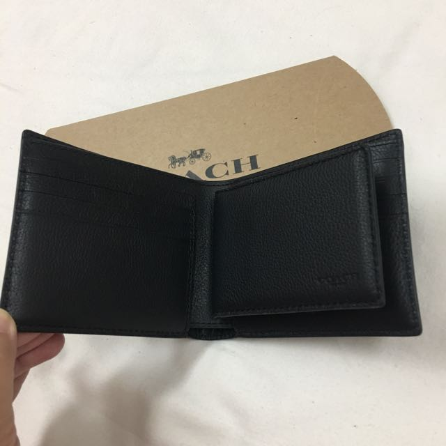 70a44b2637c7e Coach 3-in-1 Wallet in Baseball Stitch Leather