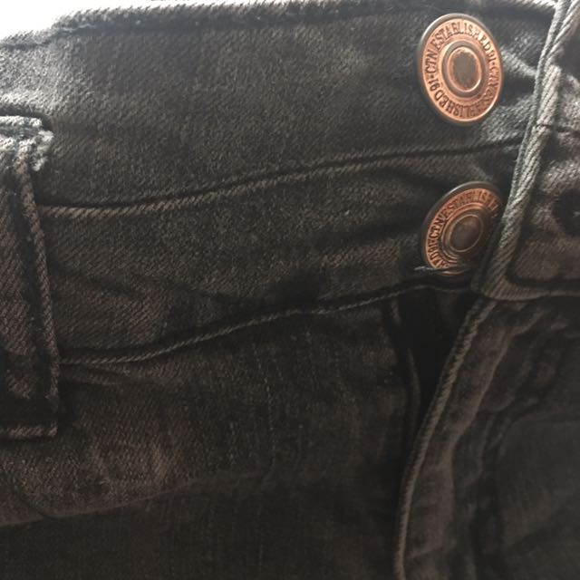 Cotton on 灰黑色牛仔短褲