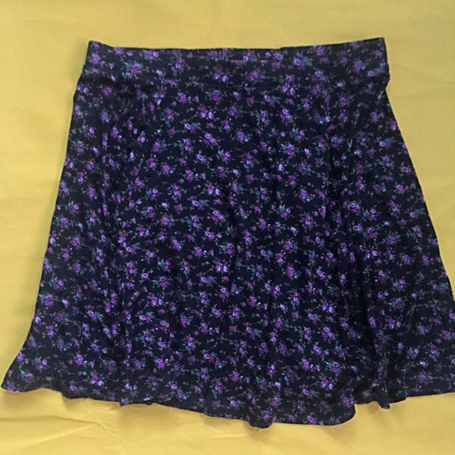Cotton on skirt floral