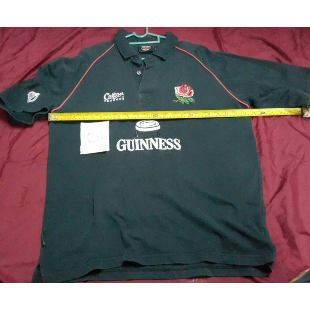c4a460bbb32 Cotton Traders Guinness Ireland Rugby Shirt | Top Mode Depot