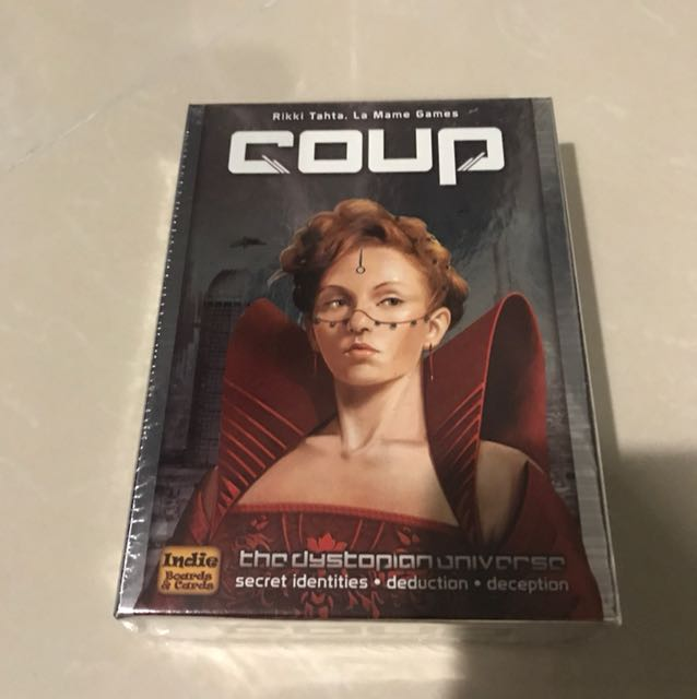 2012 Coup The Dystopian Universe Indie Boards /& Cards Game 13+