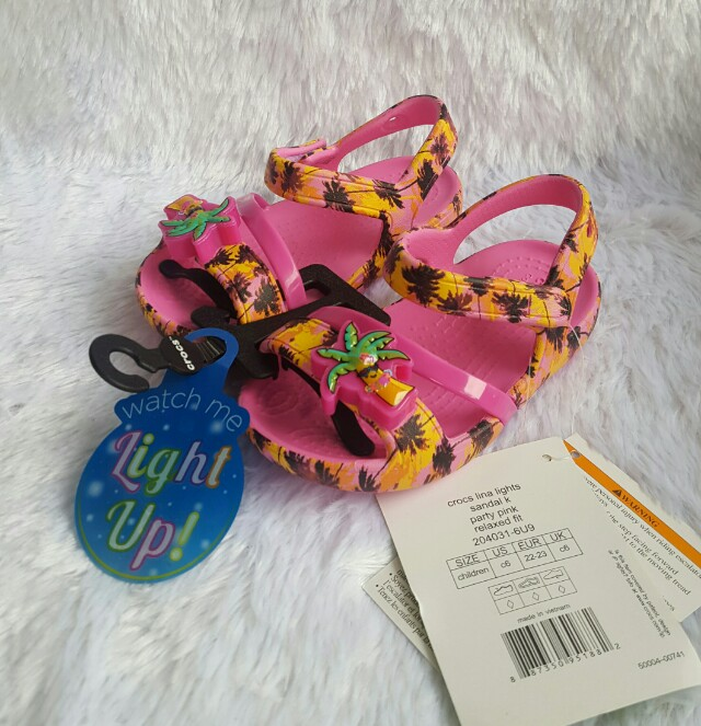 65ff32b57 Crocs Kids Lina Light Up Sandals