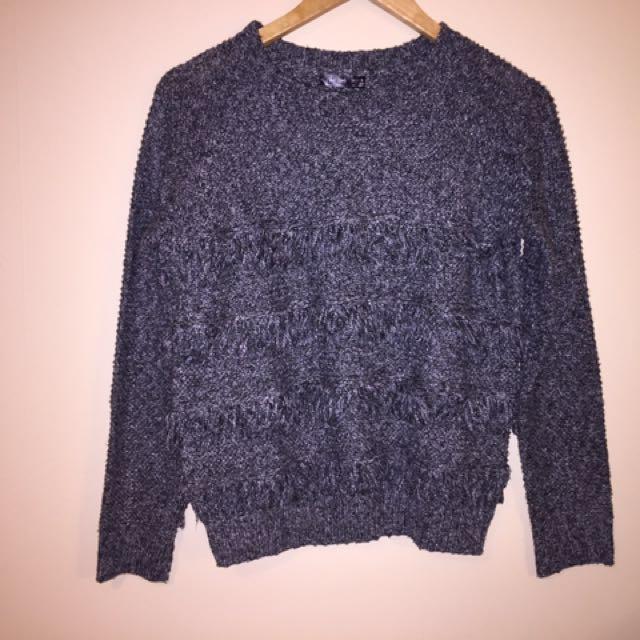 Cute Tassel Knit Jumper Size S