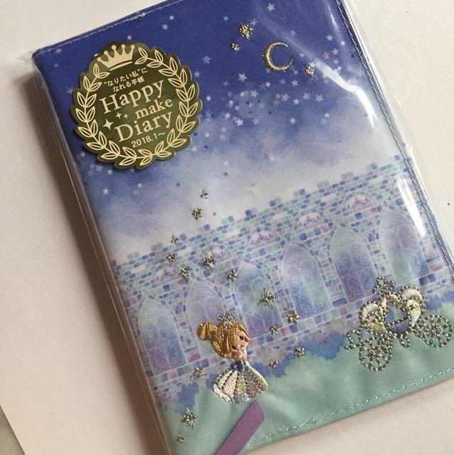 Diary planner agenda to do list cinderella tokyo disney