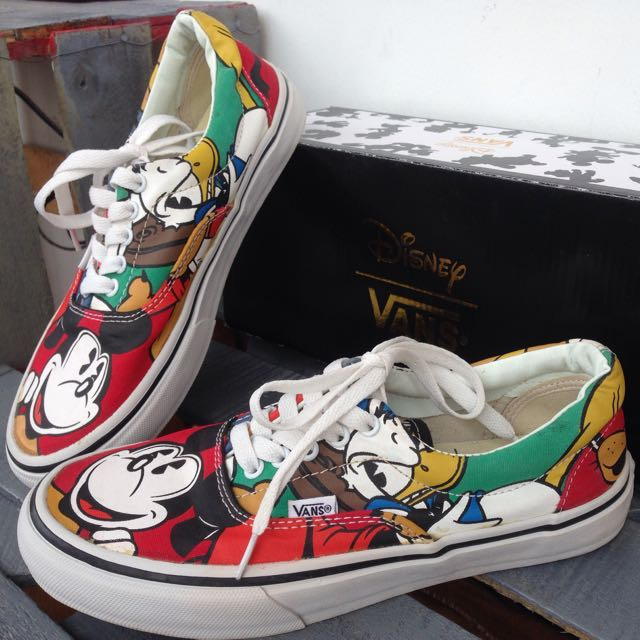 62d9077e67 Disney X Vans Era Mickey   Friends Skate Shoes  Spring Summer 2015 ...