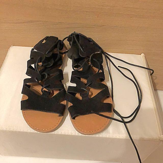 695460eb92c4 Dorothy Perkins Black Gladiator Sandals