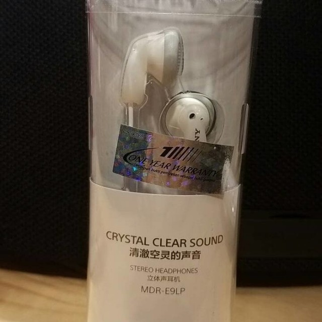 Earphone Sony Original Crystal sound