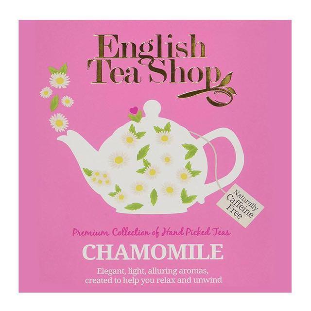 English Tea Shop Chamomile Tea (8 x 1g)