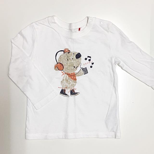 ESPRIT 童裝男童女童 長袖上衣T恤