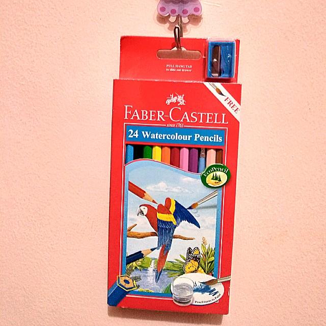 Faber Castell 24-color Watercolor Pencils