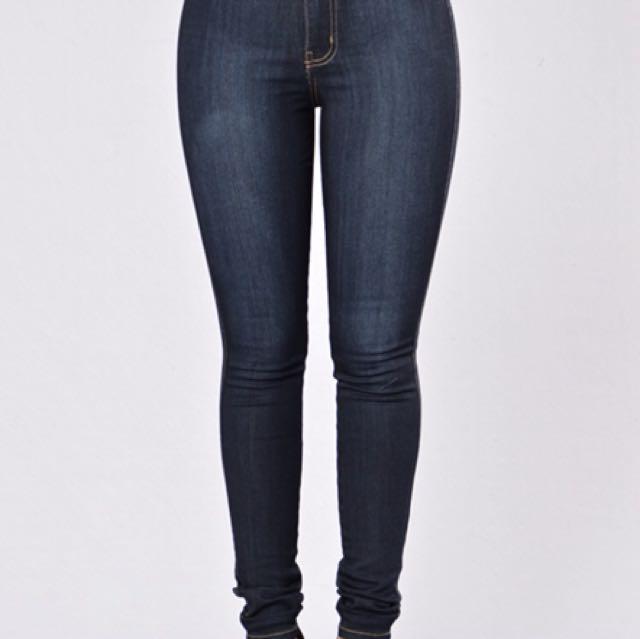 Fashionnova High Waisted Jeans