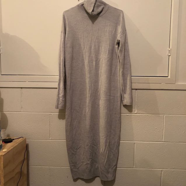 Fitted Jersey Glassons Turtleneck Dress