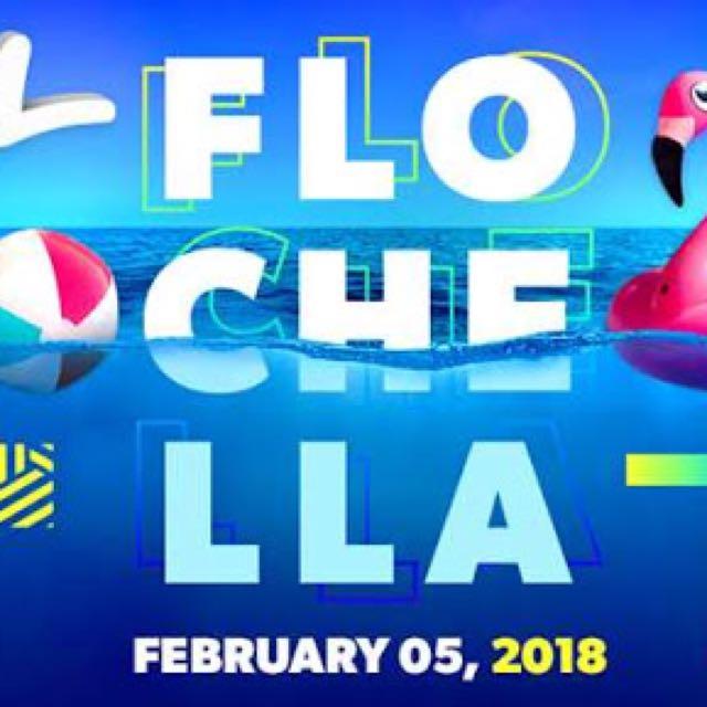 FLOCHELLA TICKET X1