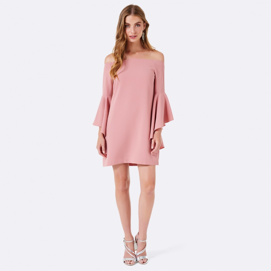 Forever new Flutter sleeve dress