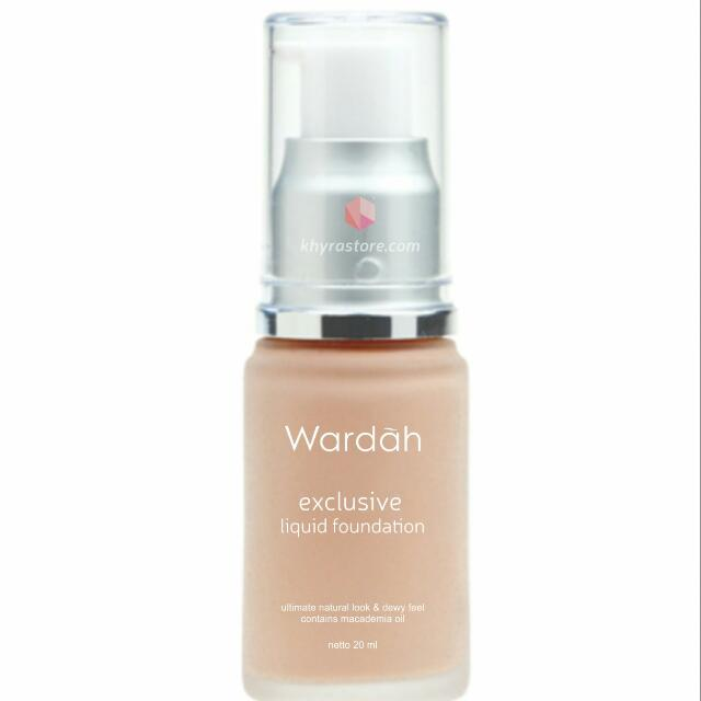Foundation Wardah Exclusive Liquid No 02 #sale