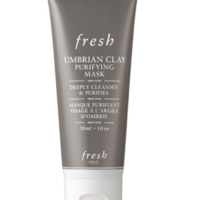 Fresh Umbrian Clay Purifying Mask (30ml travel size)