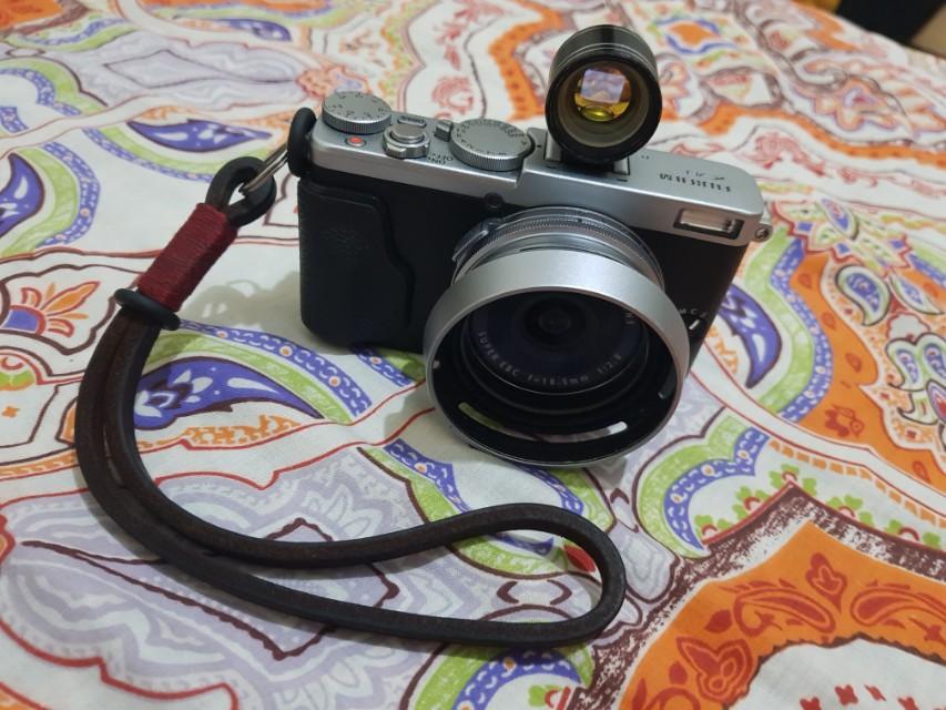 Fujifilm X70 plus extras