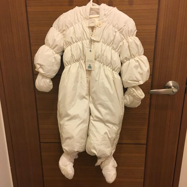 Gap Baby 連身極暖羽絨衣(含手套腳套