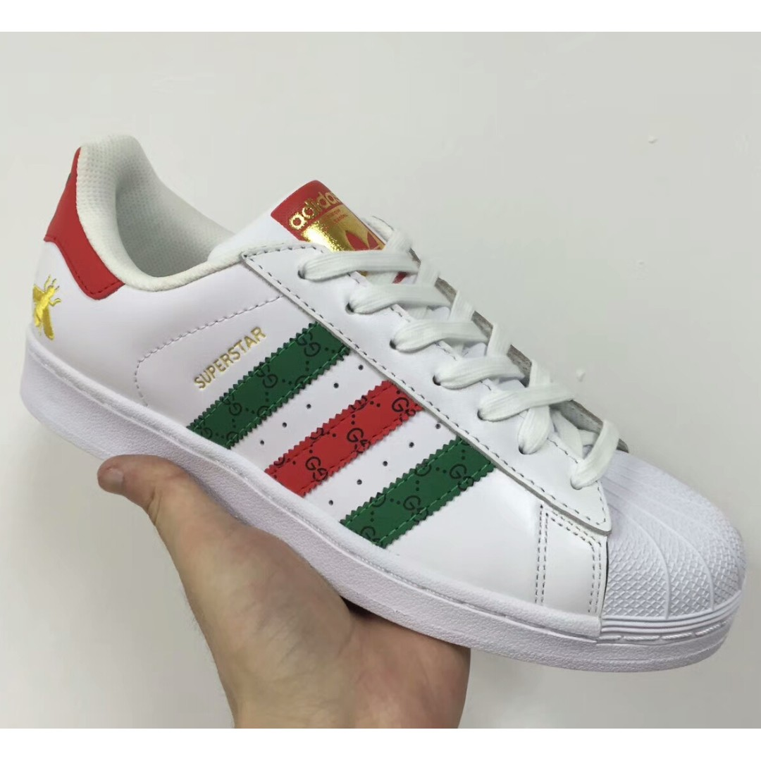 9fd1b5bd0cac Gucci x Adidas Originals Superstar 80s