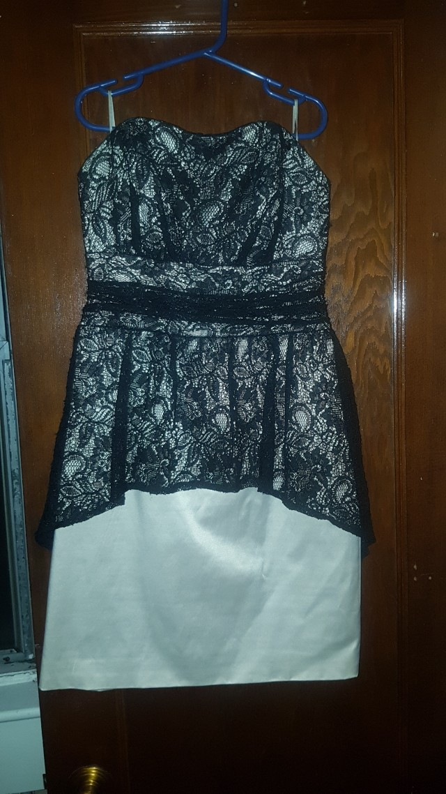 Guess Holiday Peplum Mini Dress - size 4