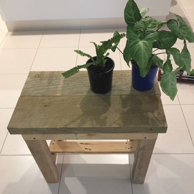 Hand Made Rustic Cafe Style Wooden Desk