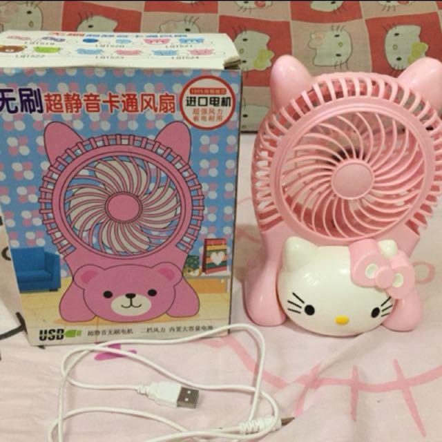 Hello Kitty Cute Fan