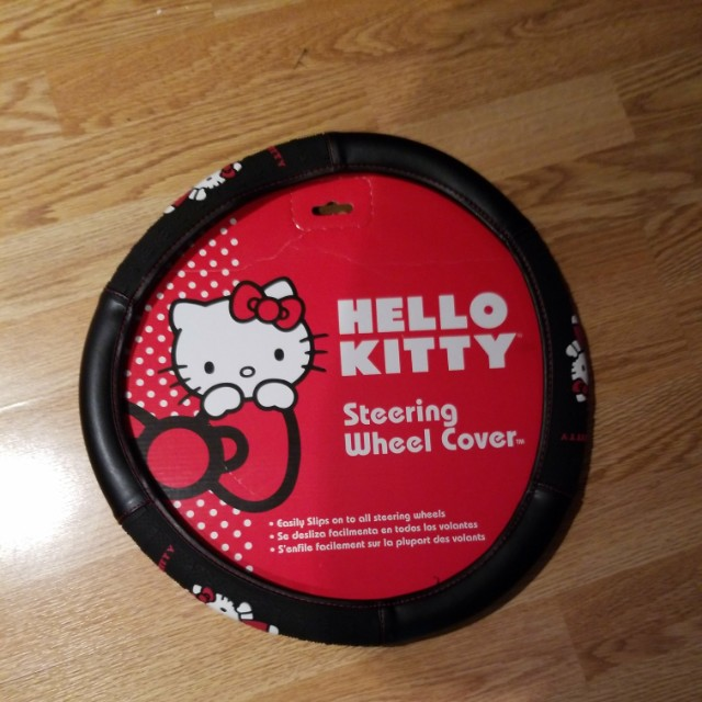 Hello Kitty Steering Wheel Cover- New