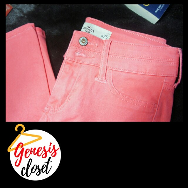 Hollister Classic Pink Jeans