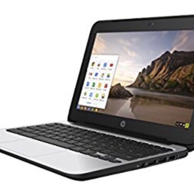 HP Chromebook 11 G5 (laptop) PLUS carrying case (free)
