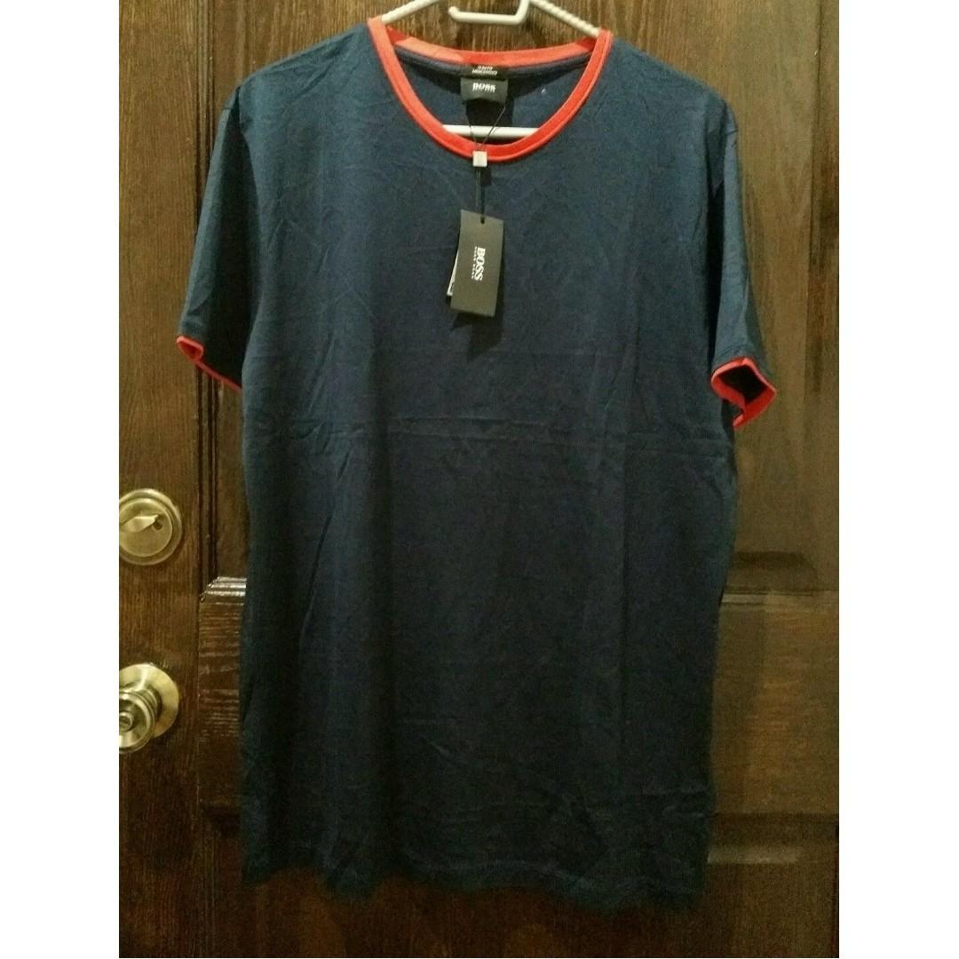 Hugo Boss Men's T-Shirt - L - Navy Blue