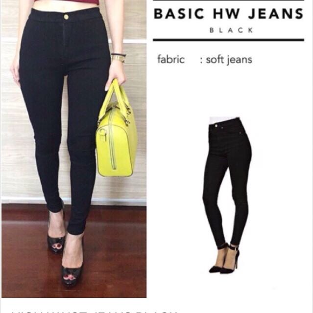 Hw Black jeans