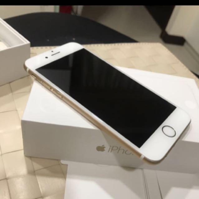 I6 金色 64G