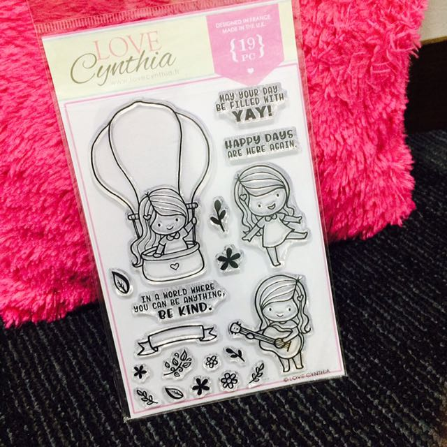 [INSTOCK] Love Cynthia's Clear Stamp - Be Kind