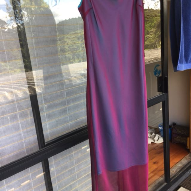 Iridescent vintage dress from glassons
