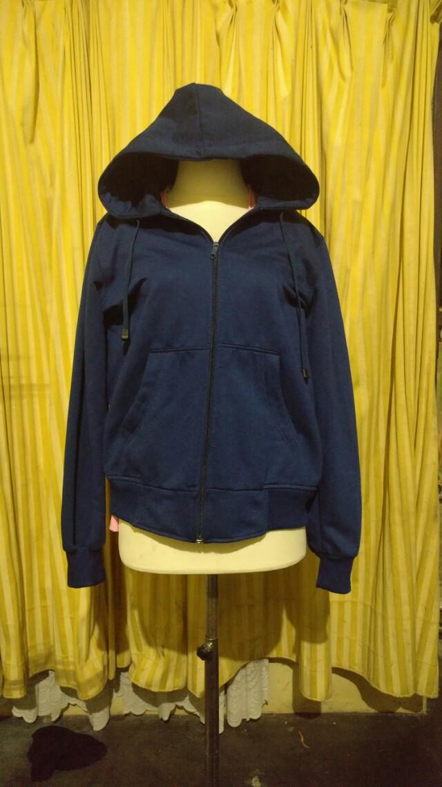 Jacket Hoodie Navy