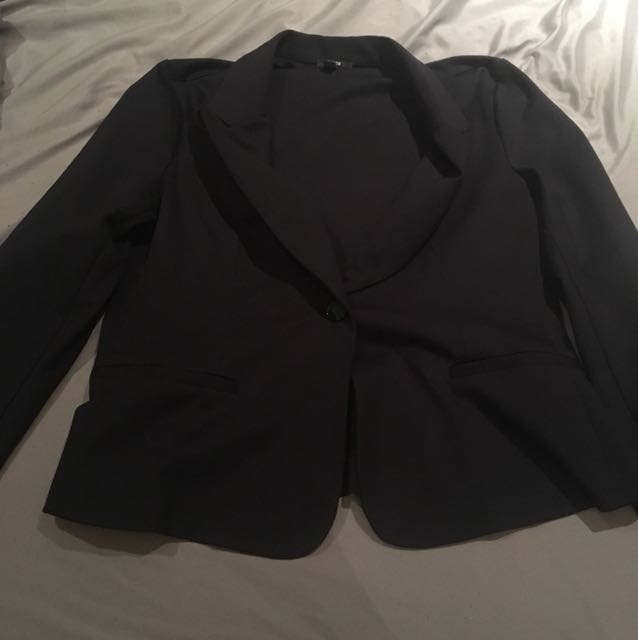 Jacob Navy Blue Blazer (XL)