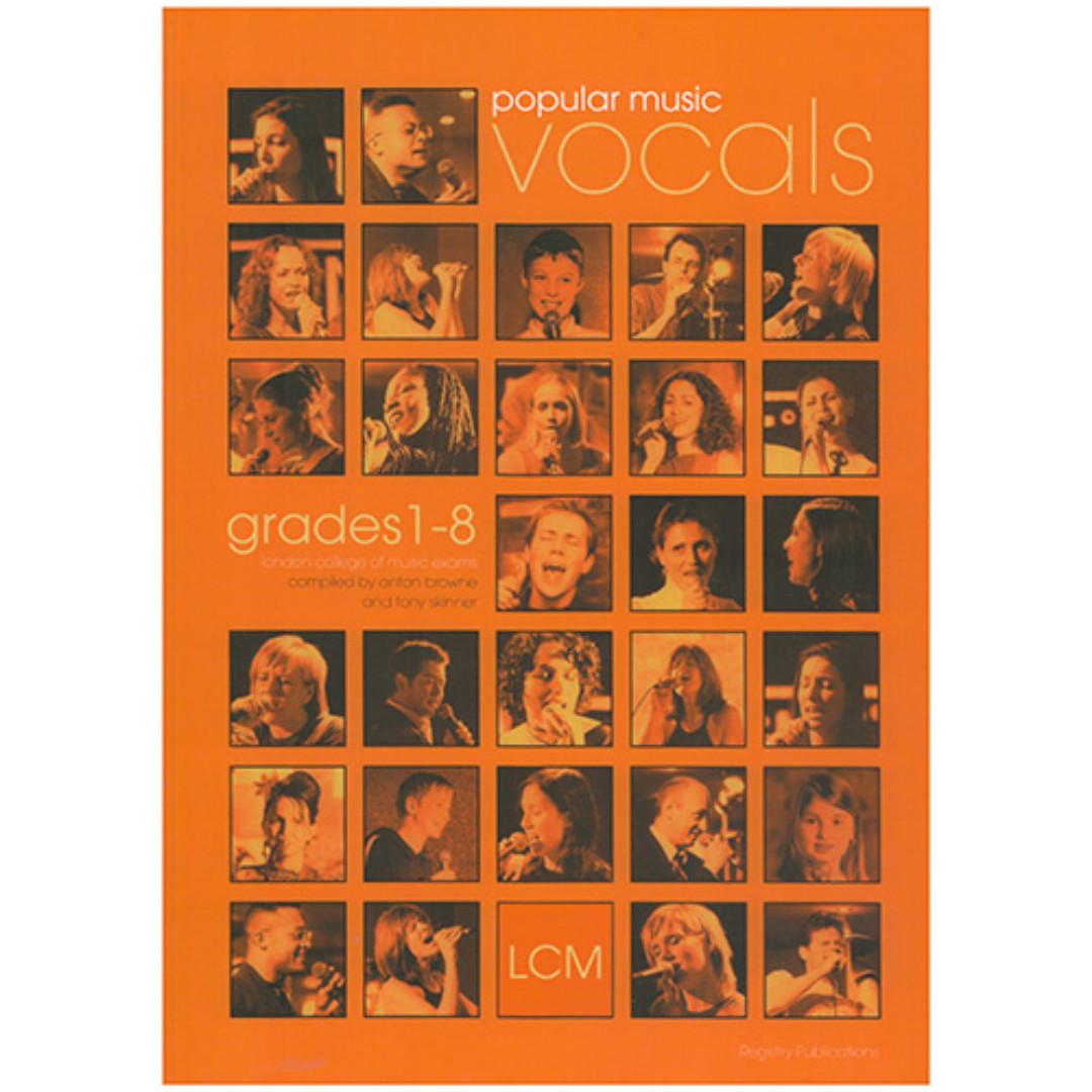 LCM Popular Music Vocals Grades 1-8 (in stock)