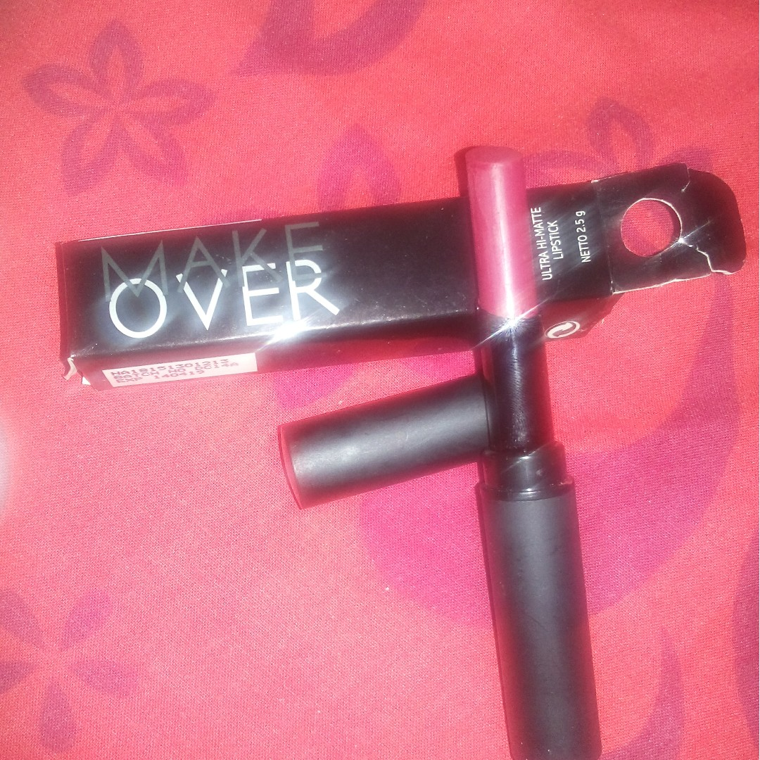 Lipstick make over ultra hi-matte