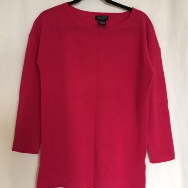 Lord & Taylor Cashmere sweater - small